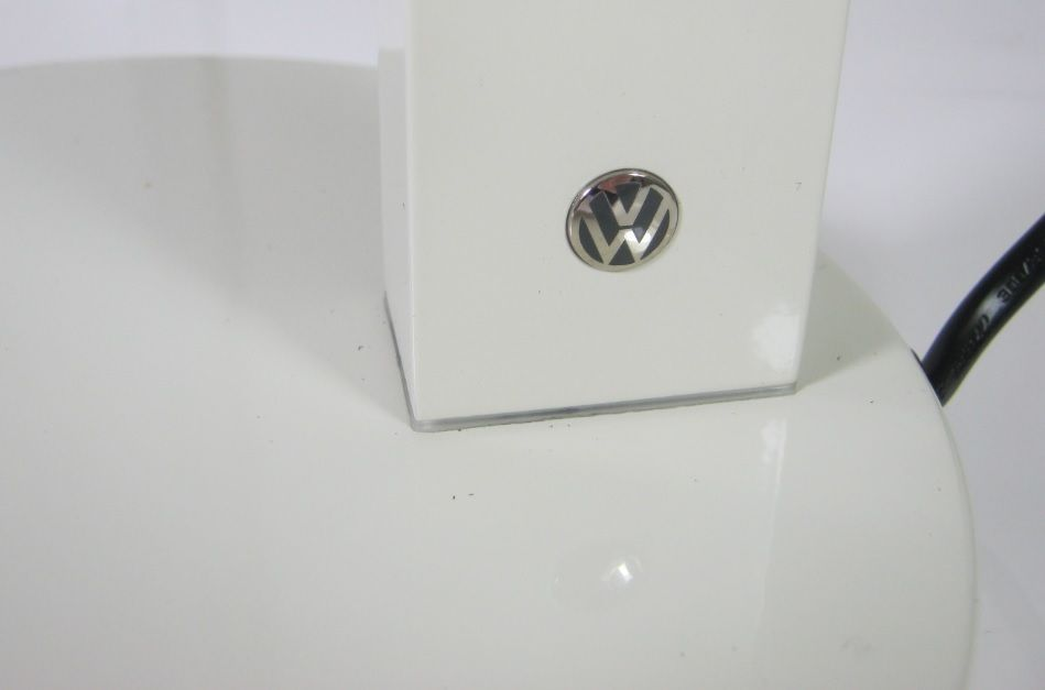 Vw Beetle Oval Licence Plate Beige Led Touch Table Desk